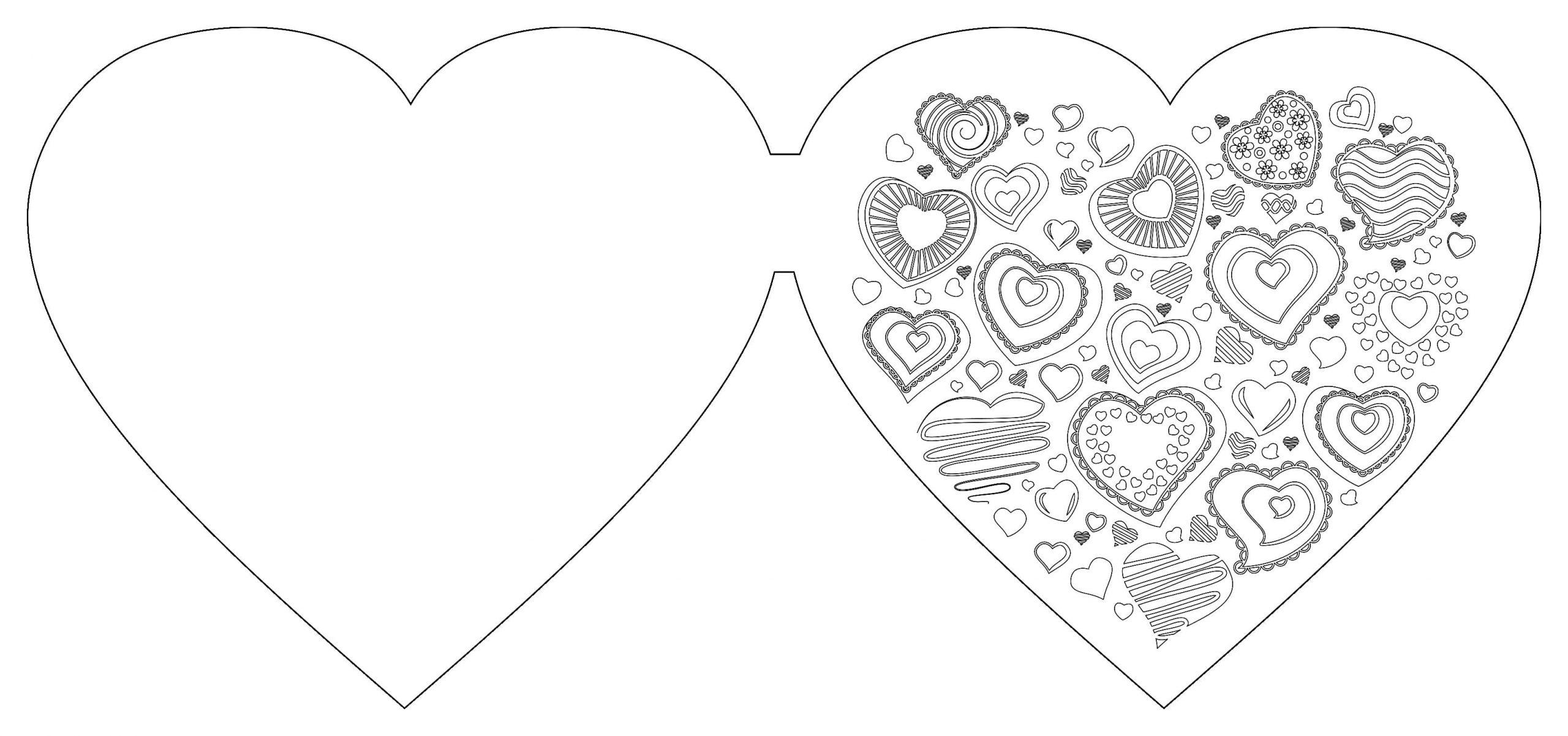 Ausmalbilder Herz. Kostenlos Herunterladen Oder Ausdrucken verwandt mit Malvorlage Herz