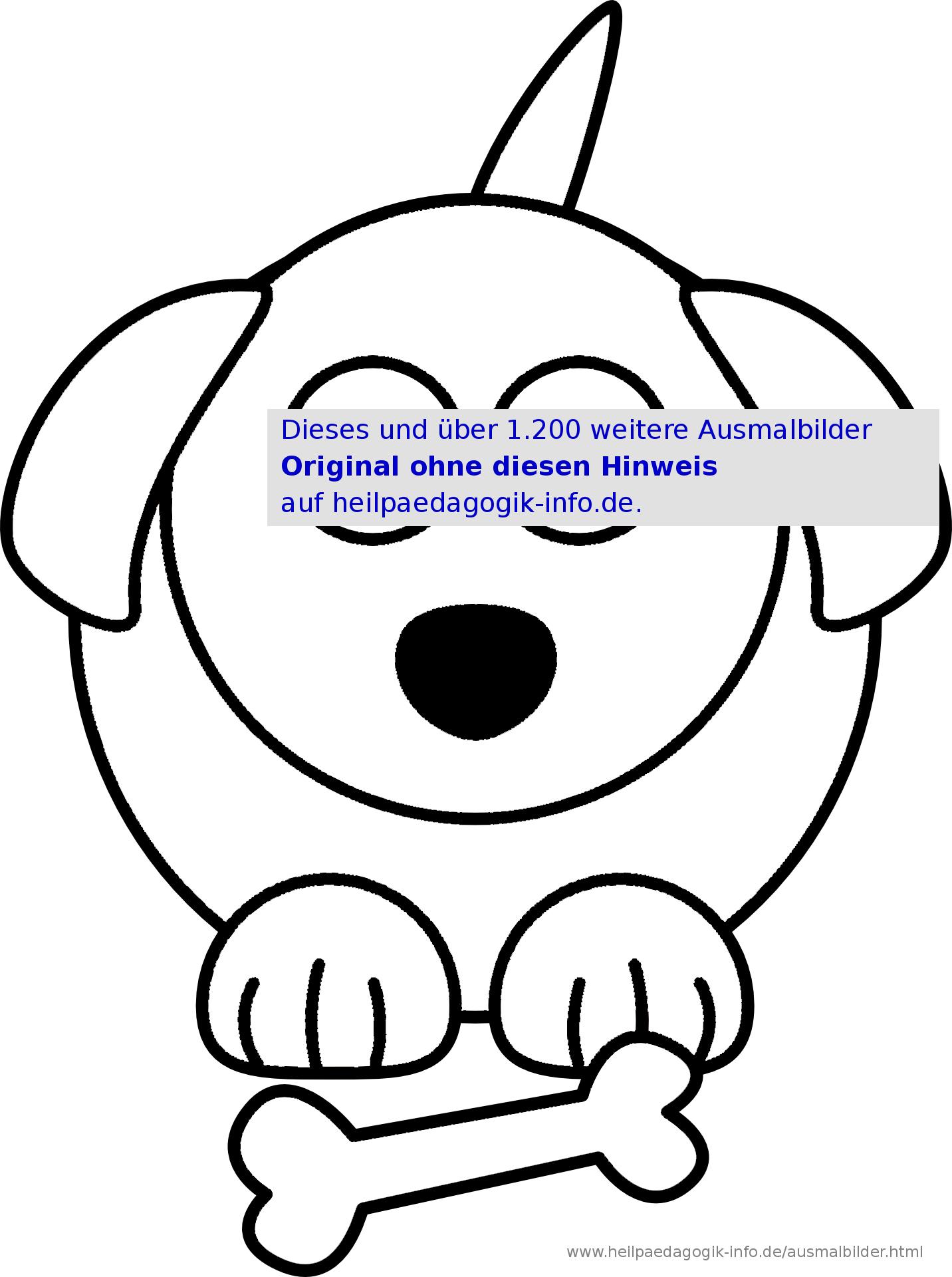 Ausmalbilder Hunde verwandt mit Ausmalbilder Von Hunden