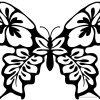 Ausmalbilder Käfer, Schmetterlinge, Insekten für Schmetterling Malvorlagen