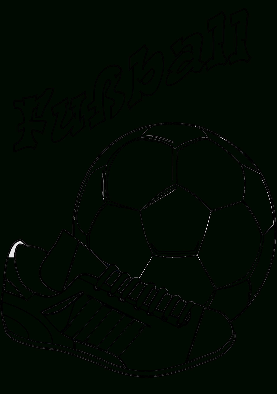 Ausmalbilder Kostenlos Fußball Spieler | Ausmalbilder über Fußball Bilder Zum Ausdrucken