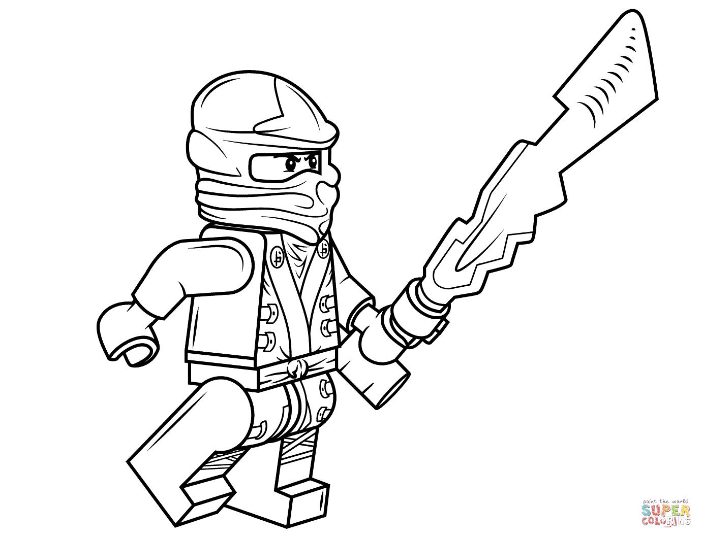 Ausmalbilder Lego Ninjago - Malvorlagen Kostenlos Zum Ausdrucken über Ausmalbilder Ninjago Kostenlos