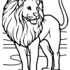 Ausmalbilder Löwen - Malvorlagen Kostenlos Zum Ausdrucken für Malvorlage Löwe
