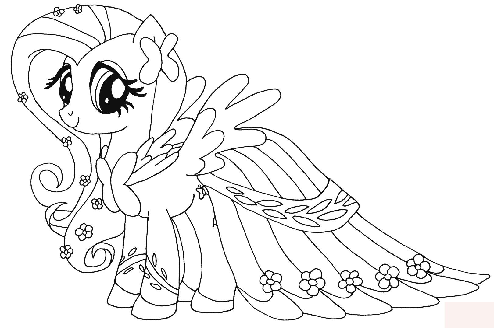 Ausmalbilder My Little Pony - 1Ausmalbilder verwandt mit My Little Pony Malvorlage