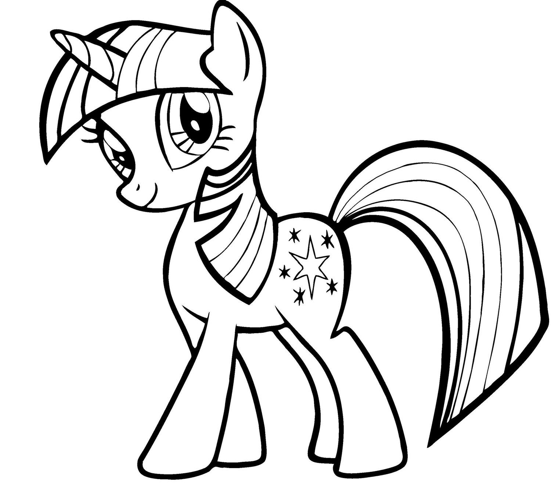 Ausmalbilder My Little Pony. Drucken Sie Kostenlos Online ganzes My Little Pony Malvorlage