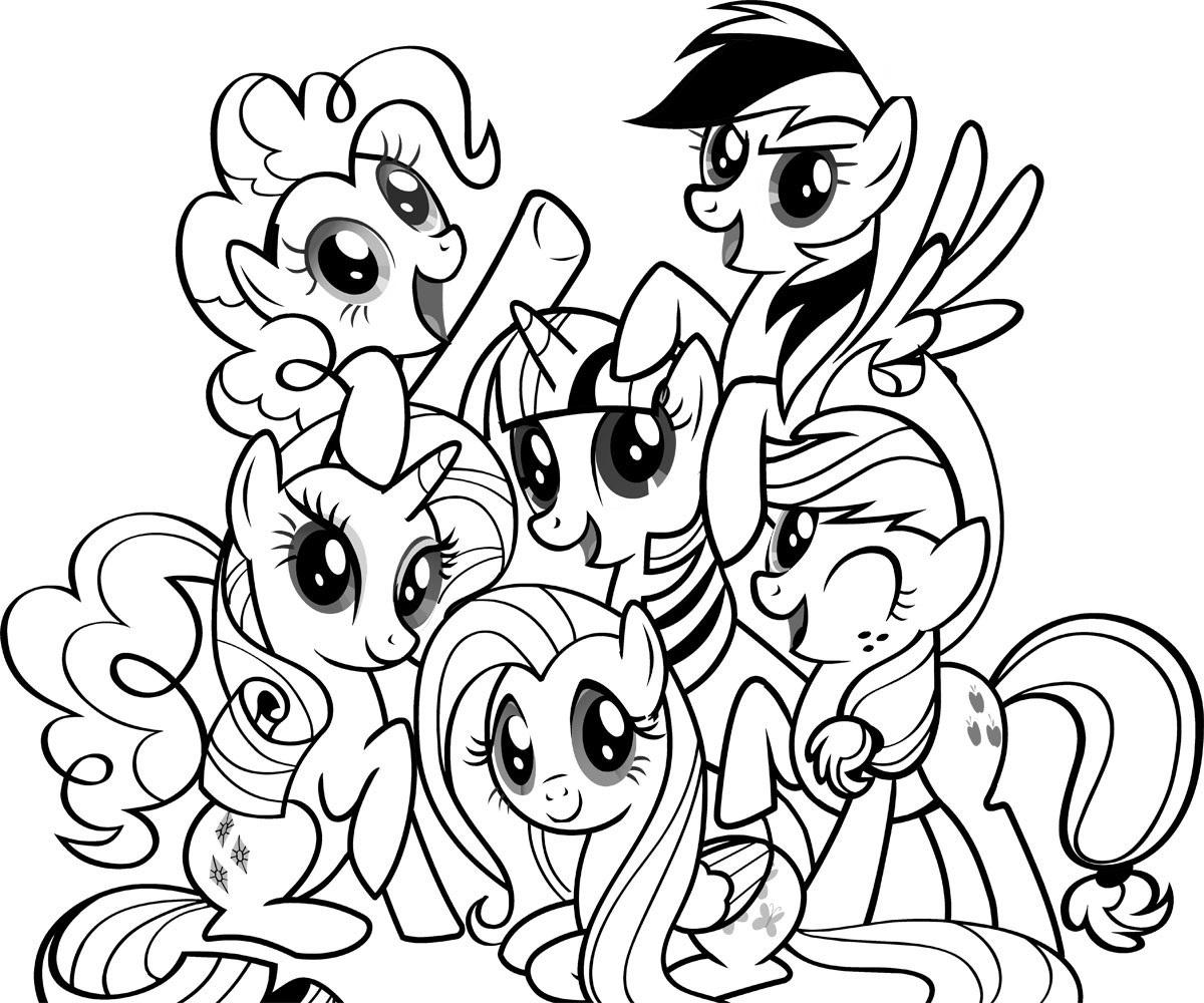 Ausmalbilder My Little Pony. Drucken Sie Kostenlos Online verwandt mit My Little Pony Malvorlage