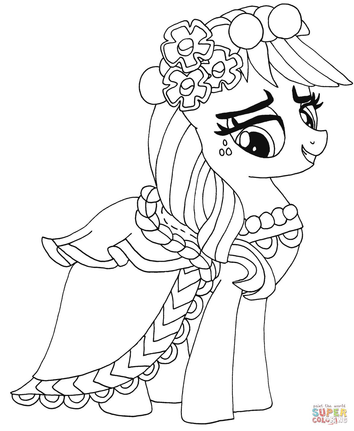 Ausmalbilder My Little Pony - Malvorlagen Kostenlos Zum ganzes My Little Pony Malvorlage