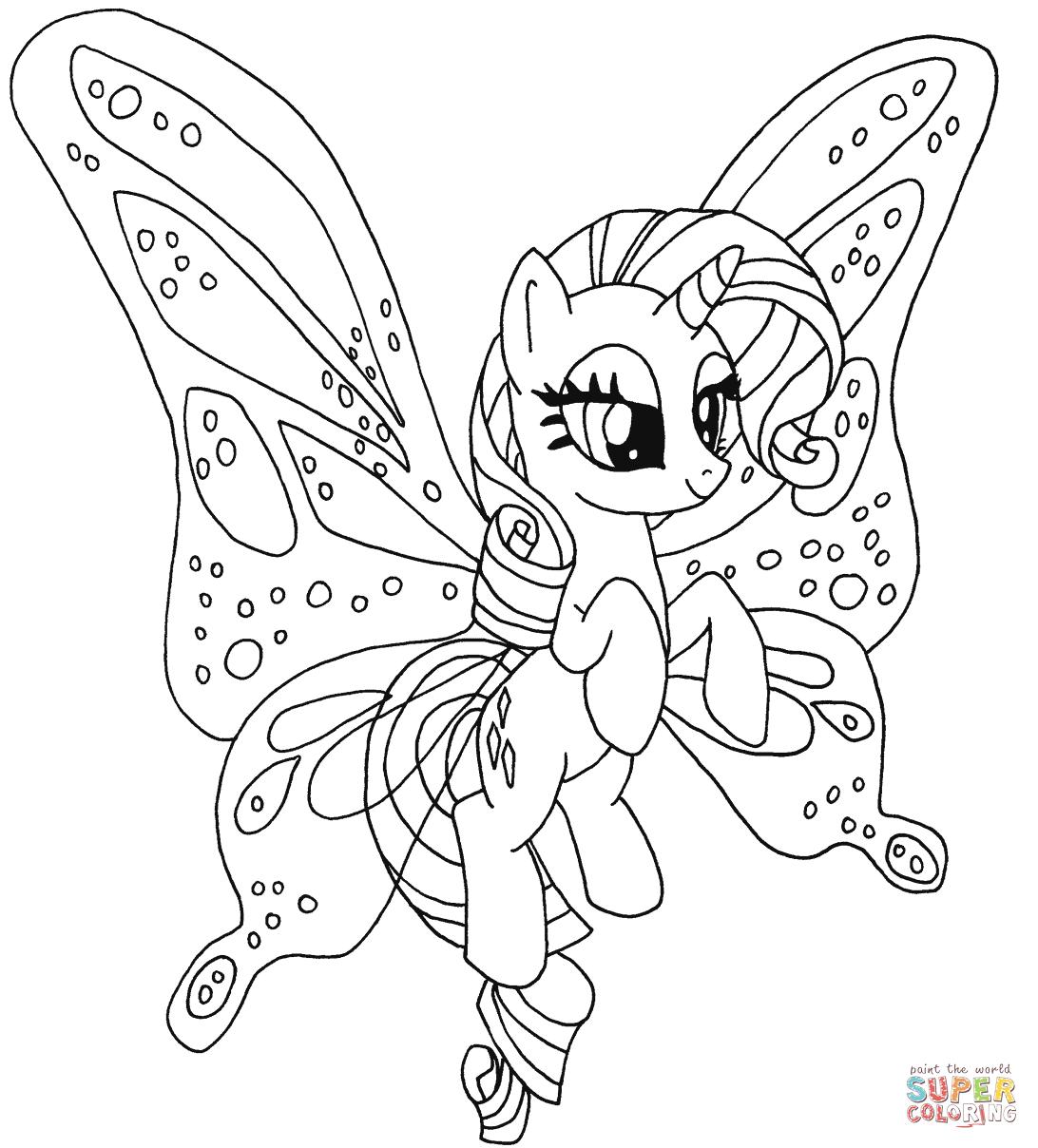 Ausmalbilder My Little Pony - Malvorlagen Kostenlos Zum innen My Little Pony Malvorlage