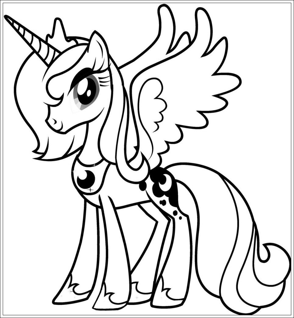 Ausmalbilder My Little Pony Zum Ausdrucken bestimmt für My Little Pony Malvorlage
