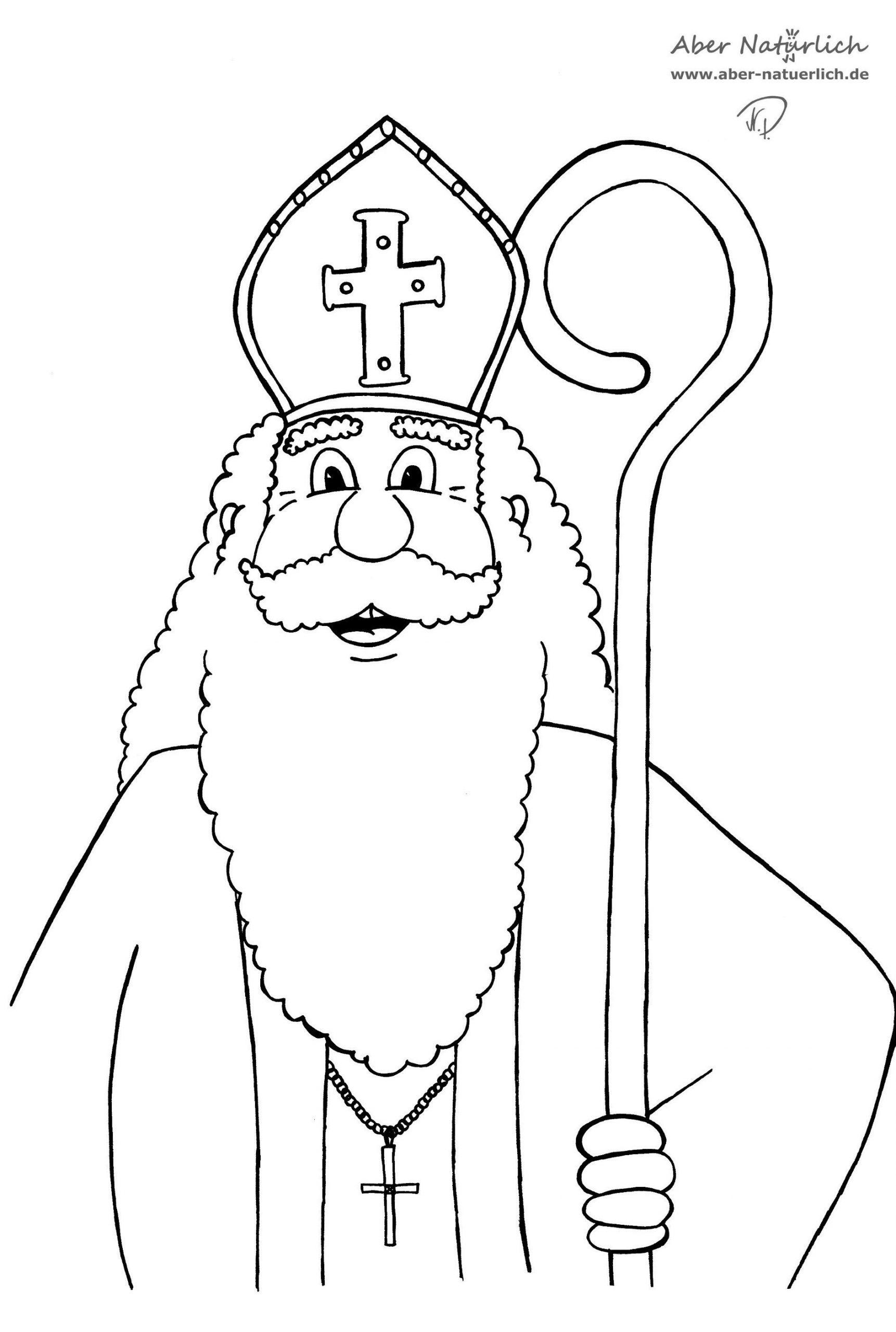 Ausmalbilder Nikolaus (Saint Nicholas) (Mit Bildern mit Nikolaus Ausmalbilder