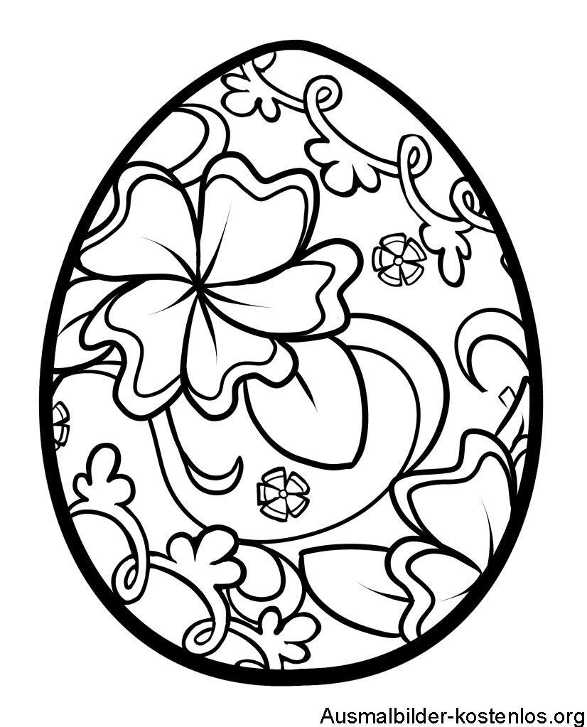 Ausmalbilder Ostereier   Ausmalbilder Ostern, Malvorlagen verwandt mit Malvorlagen Ostereier