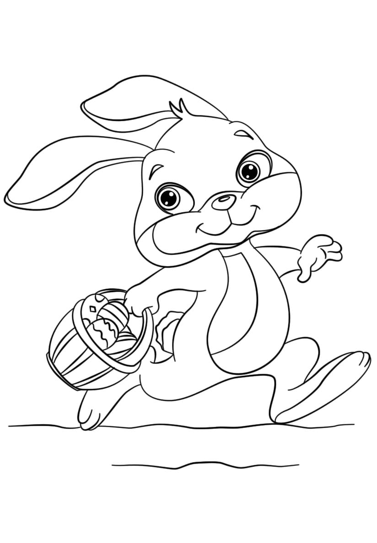 Ausmalbilder Ostern. Kostenlos Ostereier Und Hasen Ausdrucken verwandt mit Hasen Bilder Zum Ausdrucken Kostenlos