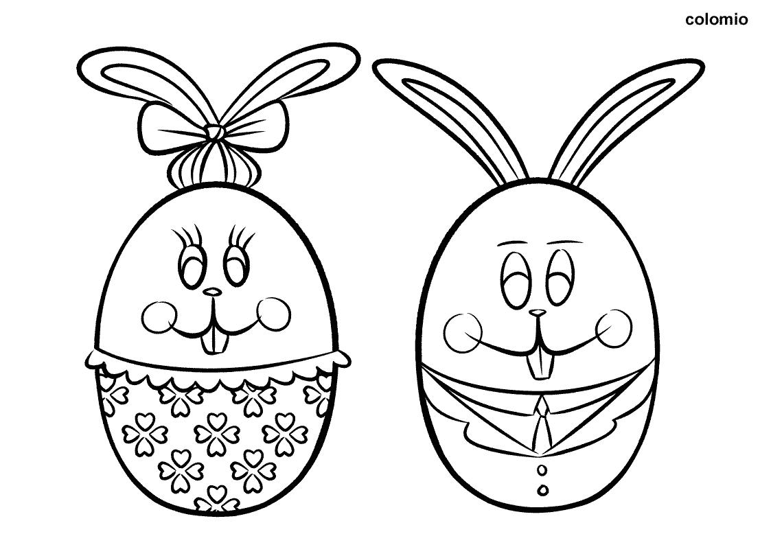 Ausmalbilder Ostern Kostenlos » Ostern Malvorlagen verwandt mit Ostereier Ausmalbilder