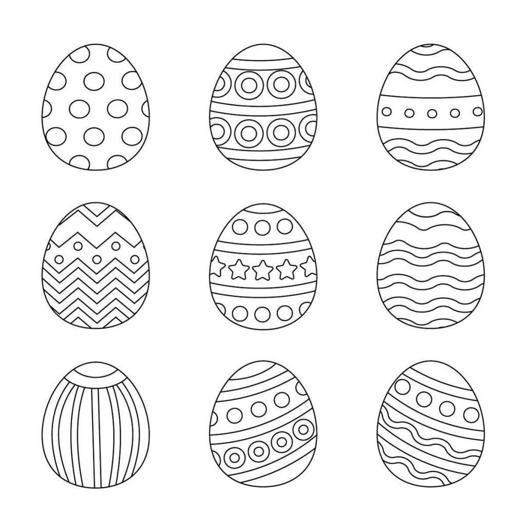 Ausmalbilder Ostern - Wunderbare Bilder ganzes Oster Malvorlagen