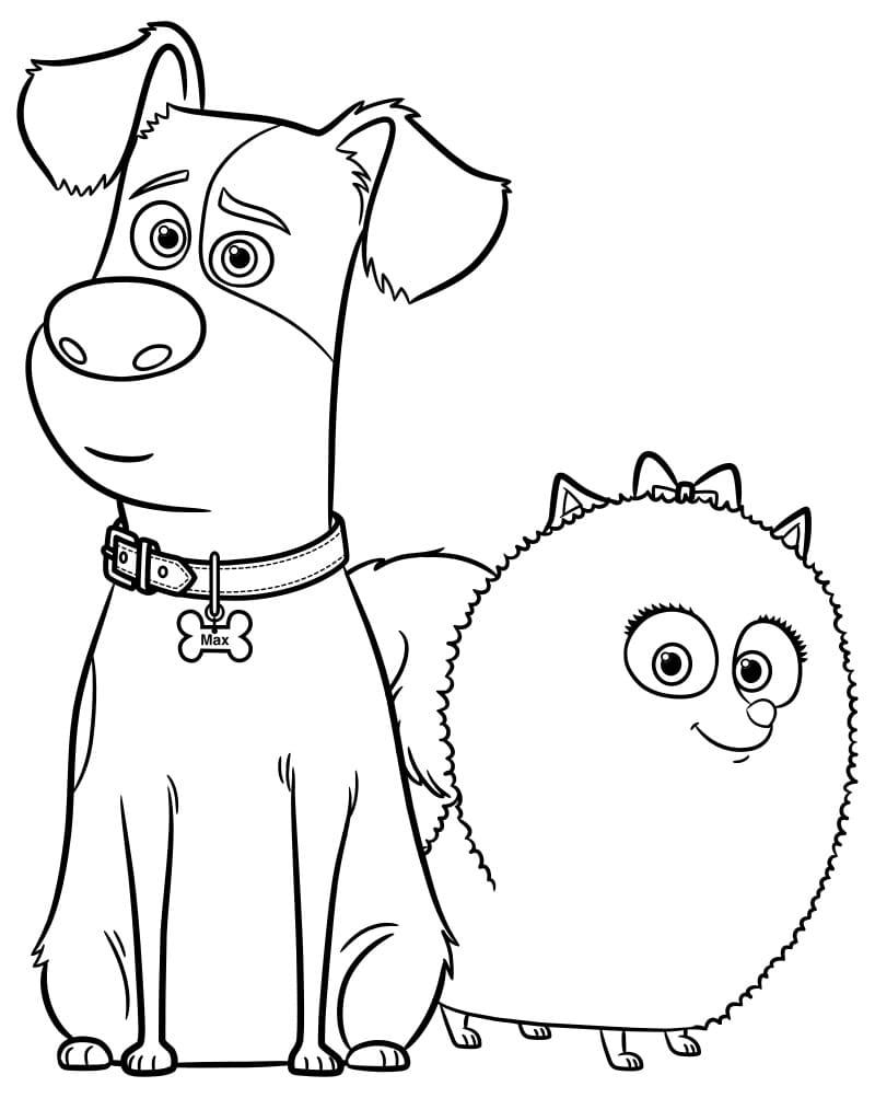 mops ausmalbilder  kinderbilderdownload  kinderbilder