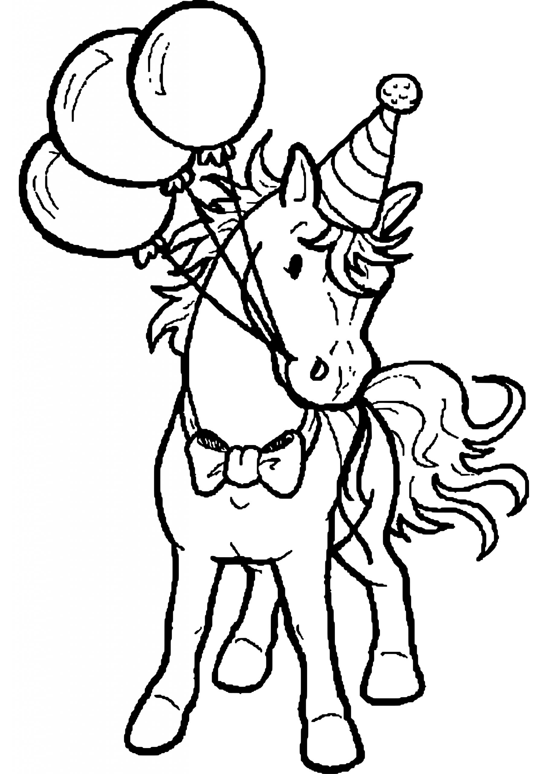 Ausmalbilder Pferde Geburtstag   Ausmalbilder Pferde über Ausmalbilder Pferde Und Ponys