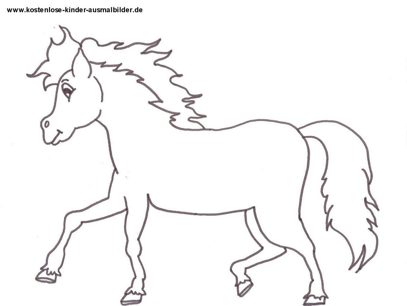 Ausmalbilder Pferde Kostenlose (Mit Bildern) | Malvorlagen innen Pferde Bilder Zum Ausmalen Und Ausdrucken Kostenlos