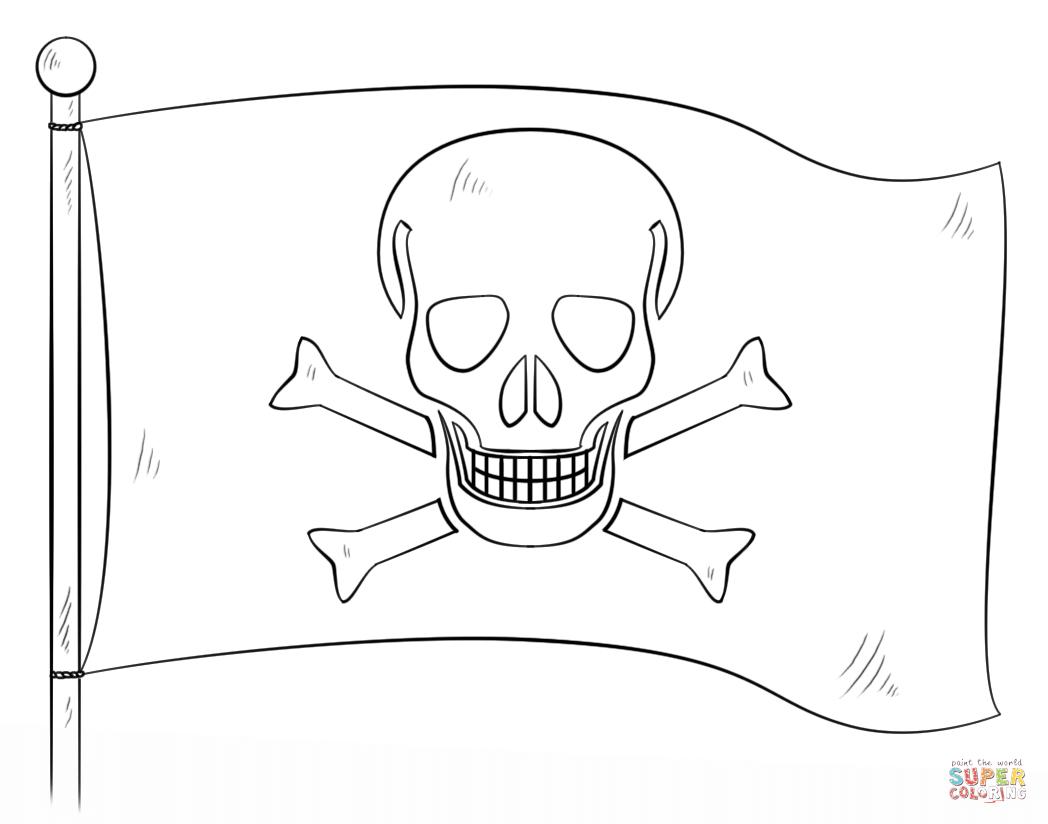 Ausmalbilder Piraten - Malvorlagen Kostenlos Zum Ausdrucken bei Malvorlagen Piraten