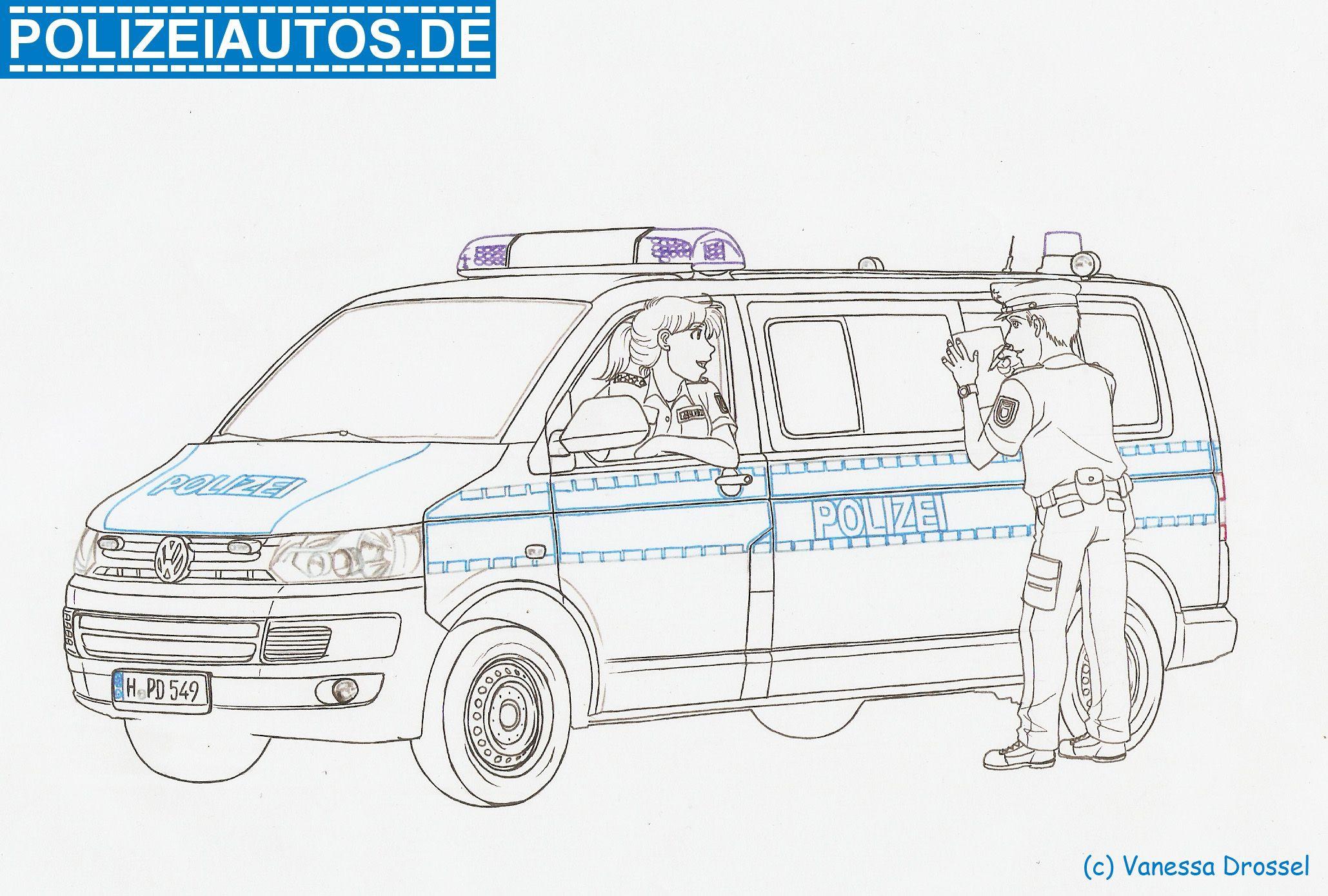 Ausmalbilder Polizei Autos 01 (Mit Bildern) | Ausmalen mit Ausmalbilder Polizei