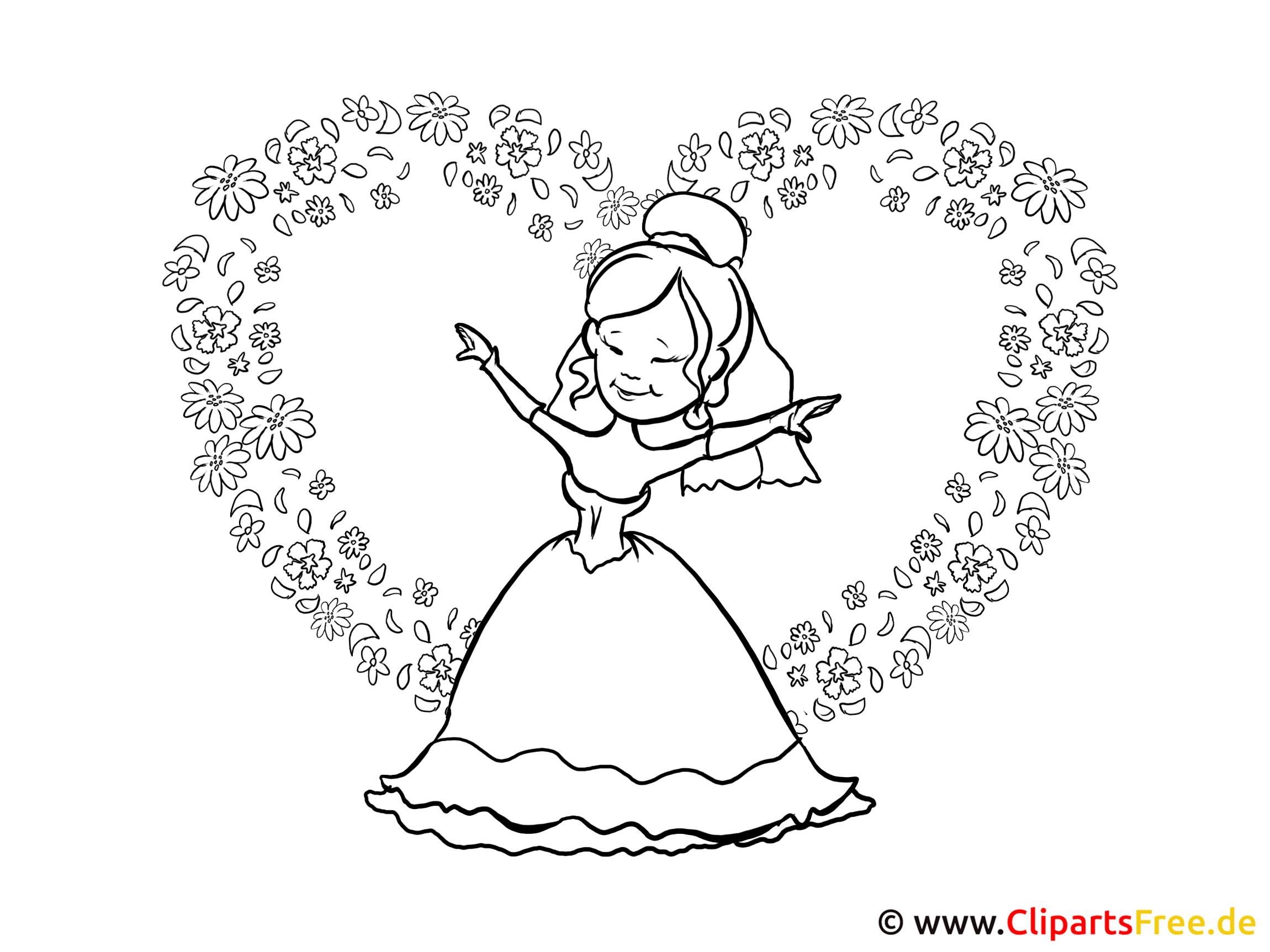 Ausmalbilder Prinzessin bestimmt für Ausmalbilder Von Prinzessinnen