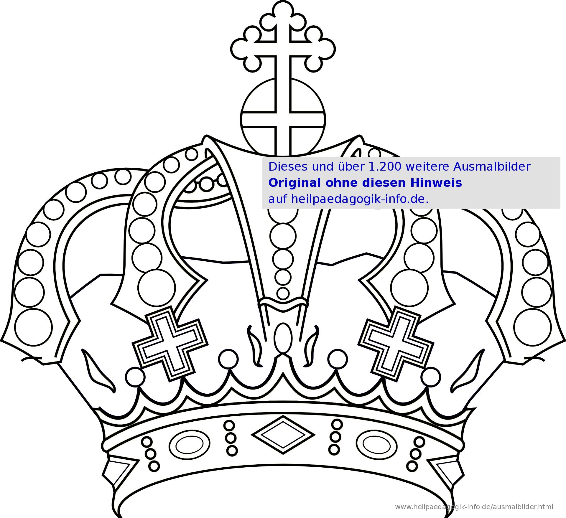 Ausmalbilder Prinzessinnen Und Feen mit Malvorlage Krone