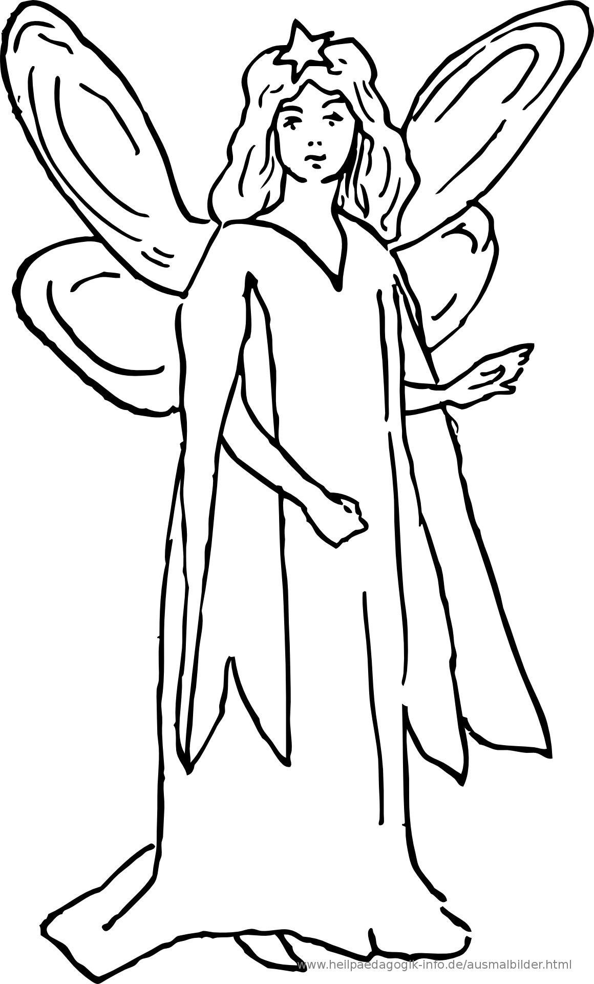 Ausmalbilder Prinzessinnen Und Feen verwandt mit Ausmalbild Elfe