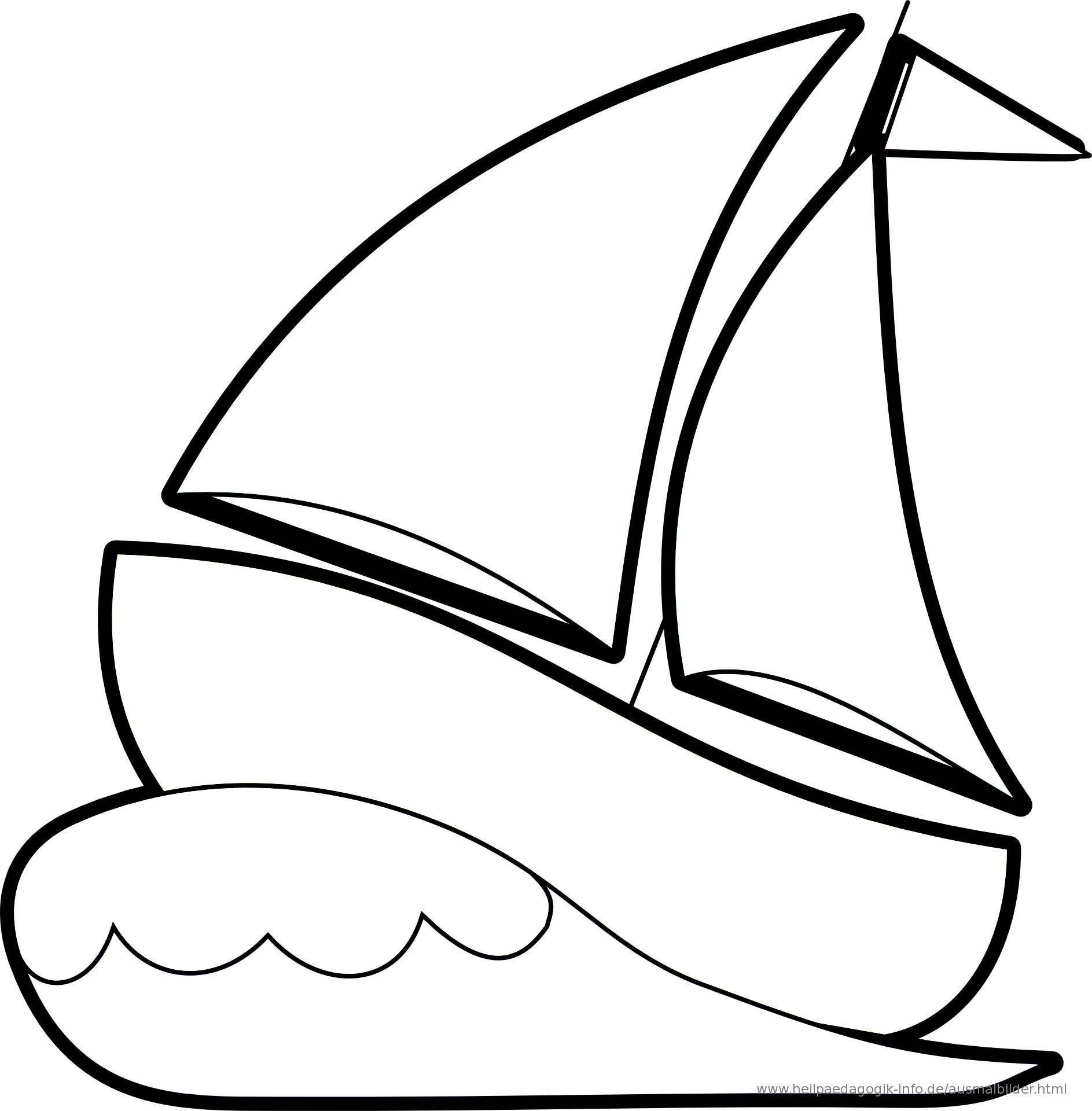 Ausmalbilder Schiffe Und Boote innen Ausmalbild Schiff