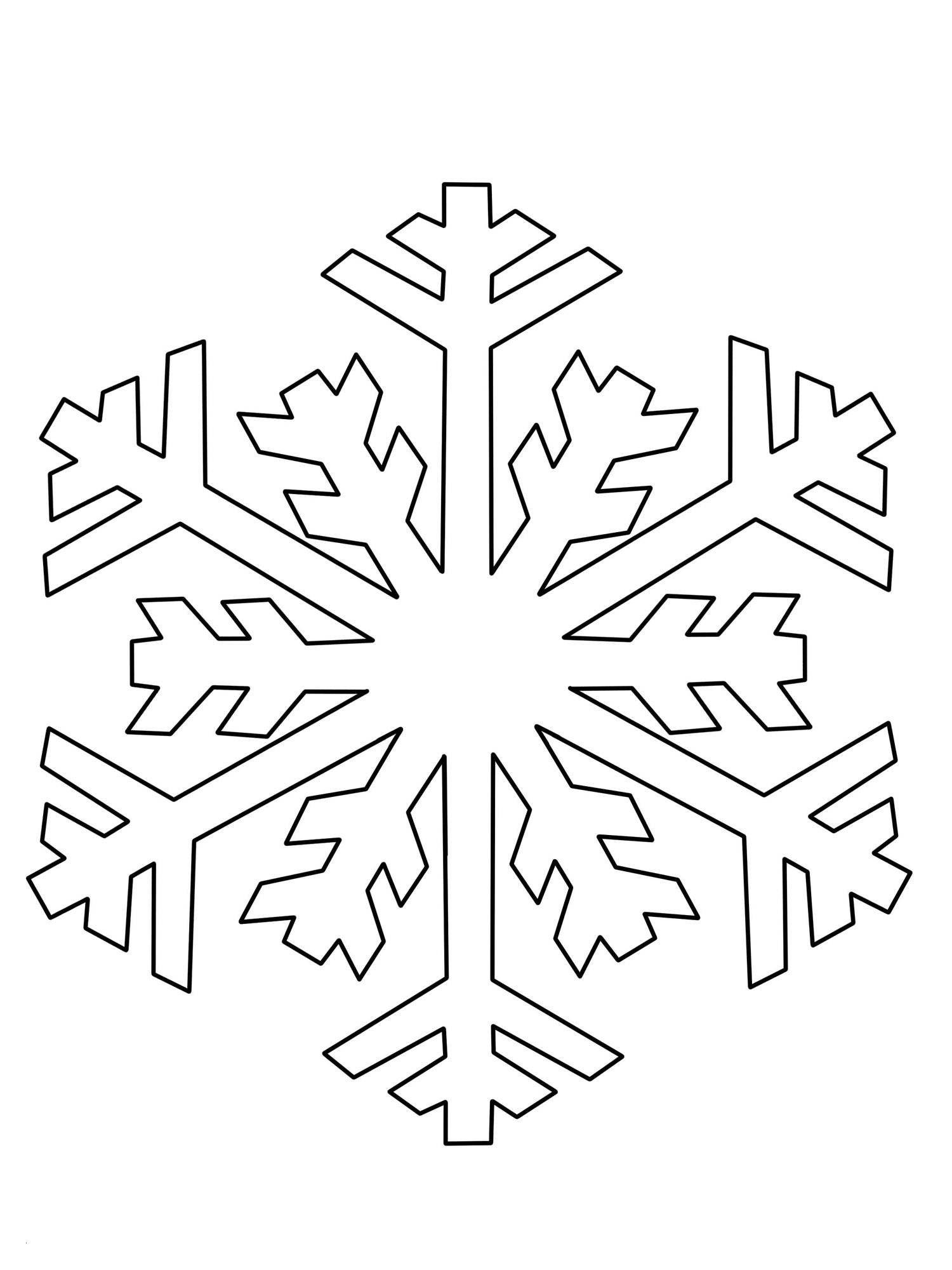 Ausmalbilder Schneeflocken Schablone Zum Ausdrucken (Mit für Schablonen Zum Ausdrucken Kostenlos