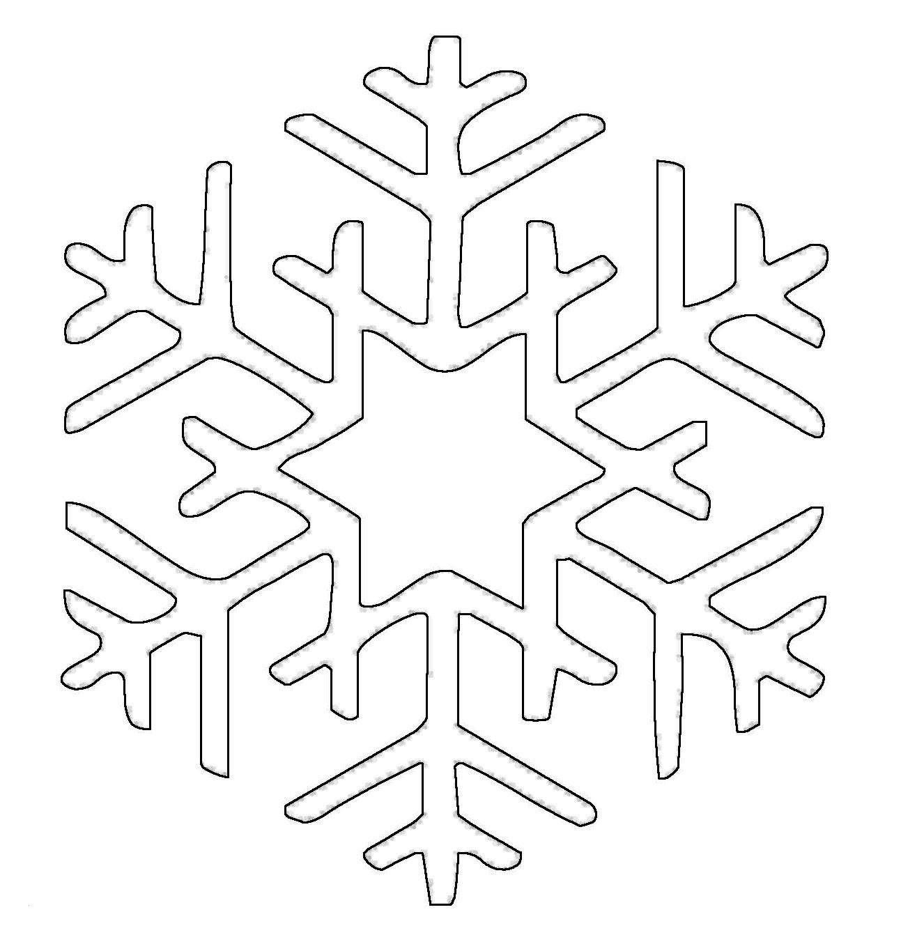 ausmalbilder schneeflocken schablone zum ausdrucken über