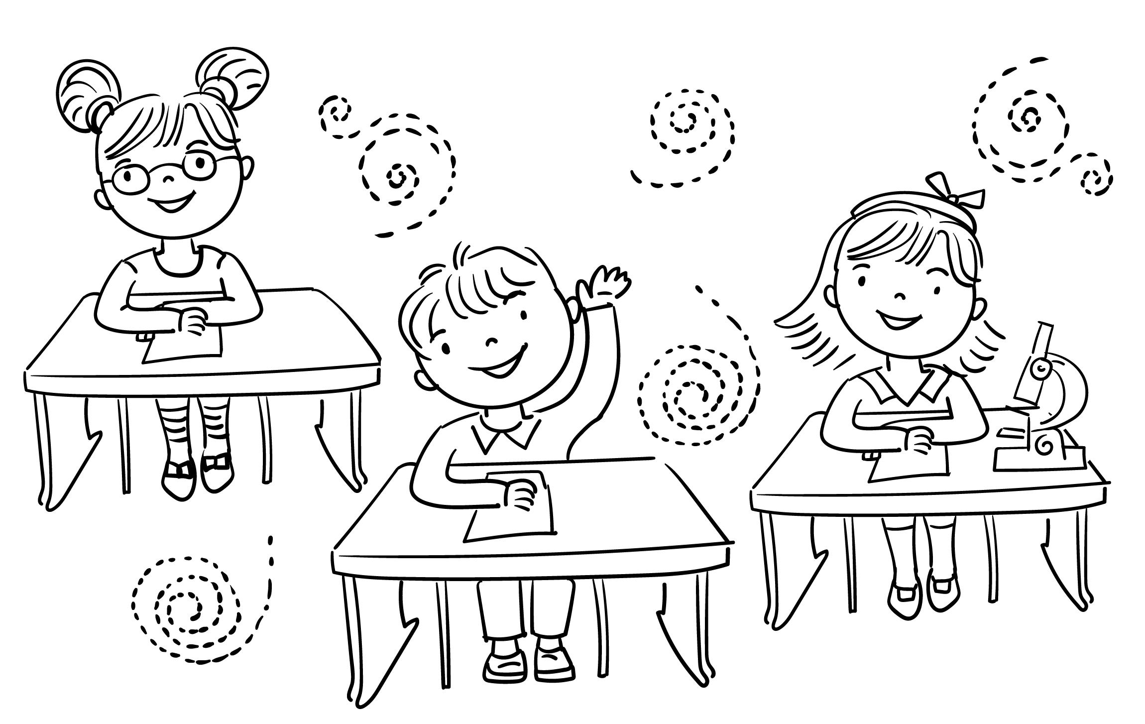 Ausmalbilder Schulanfang - 1Ausmalbilder bestimmt für Schulanfang Ausmalbilder