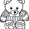 Ausmalbilder Spielzeug mit Ausmalbild Teddy