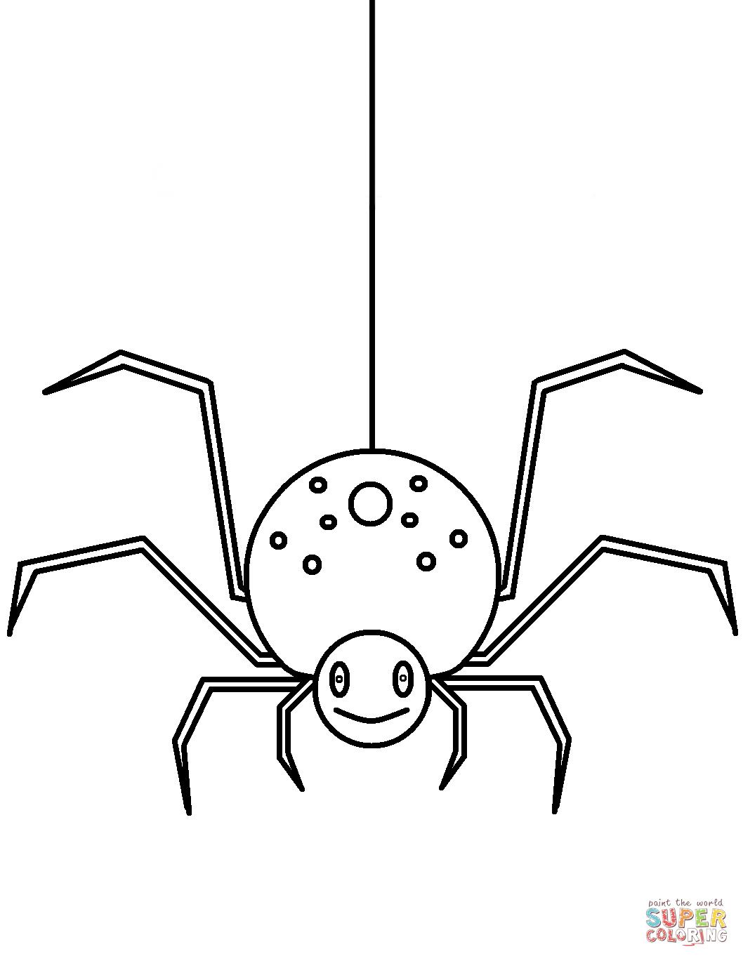 Ausmalbilder Spinnen - Malvorlagen Kostenlos Zum Ausdrucken bestimmt für Spinnen Ausmalbilder Zum Ausdrucken
