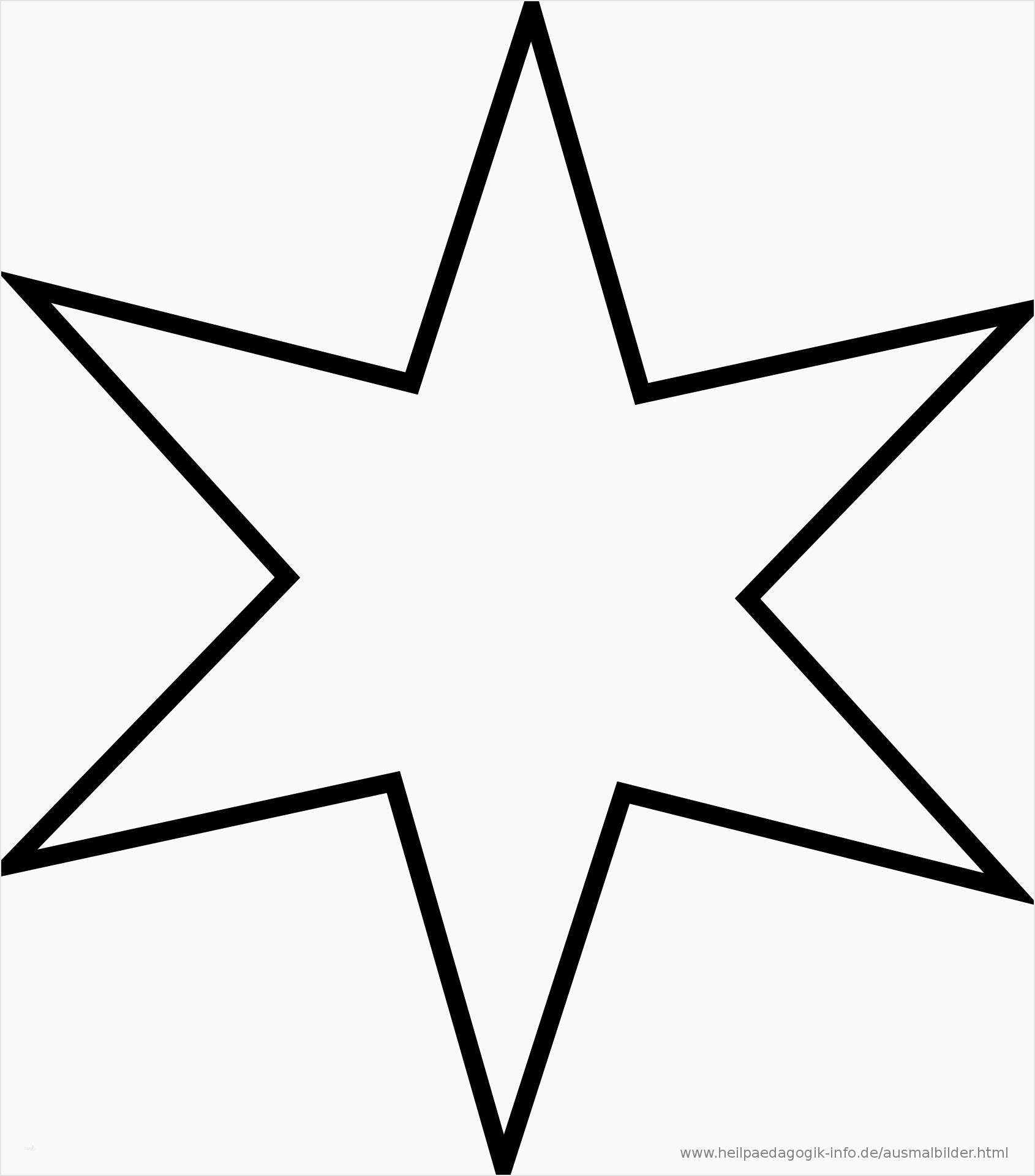 Ausmalbilder Sternschnuppe Einzigartig Stern Vorlage Zum mit Druckvorlage Stern