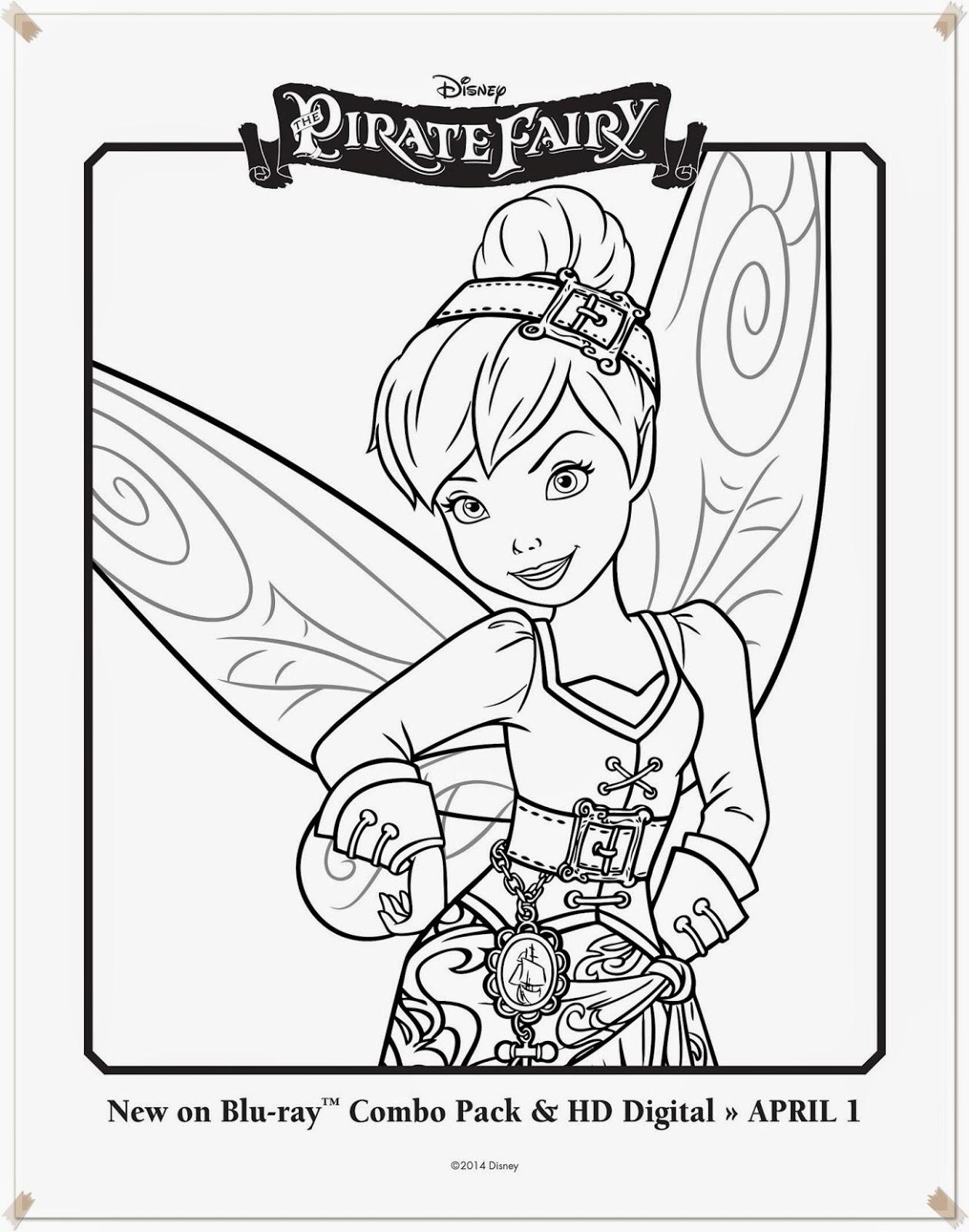 Ausmalbilder The Pirate Fairy Disney innen Ausmalbilder Tinkerbell Und Die Piratenfee