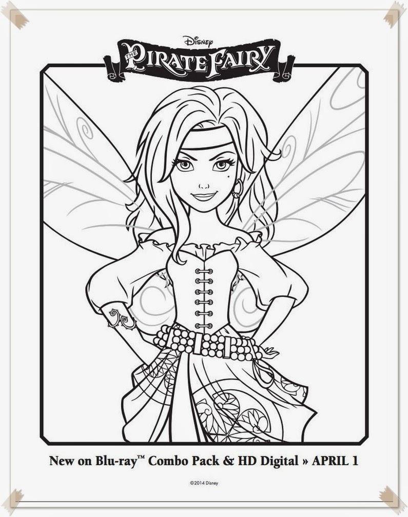 Ausmalbilder The Pirate Fairy Disney mit Ausmalbilder Tinkerbell Und Die Piratenfee