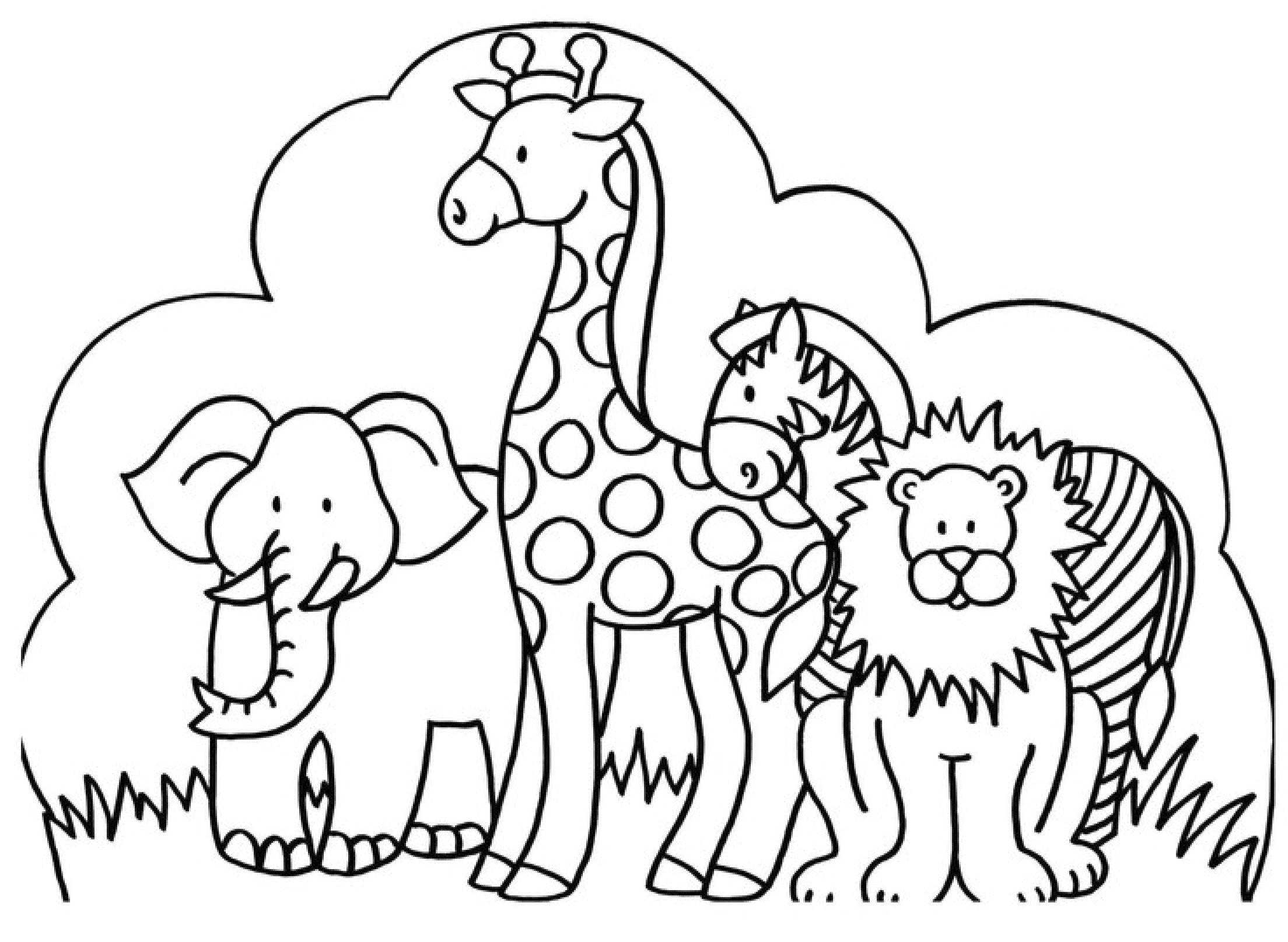 Ausmalbilder Tiere #ausmalbilder #tiere   Ausmalbilder Tiere bei Tierbilder Zum Ausmalen Kostenlos
