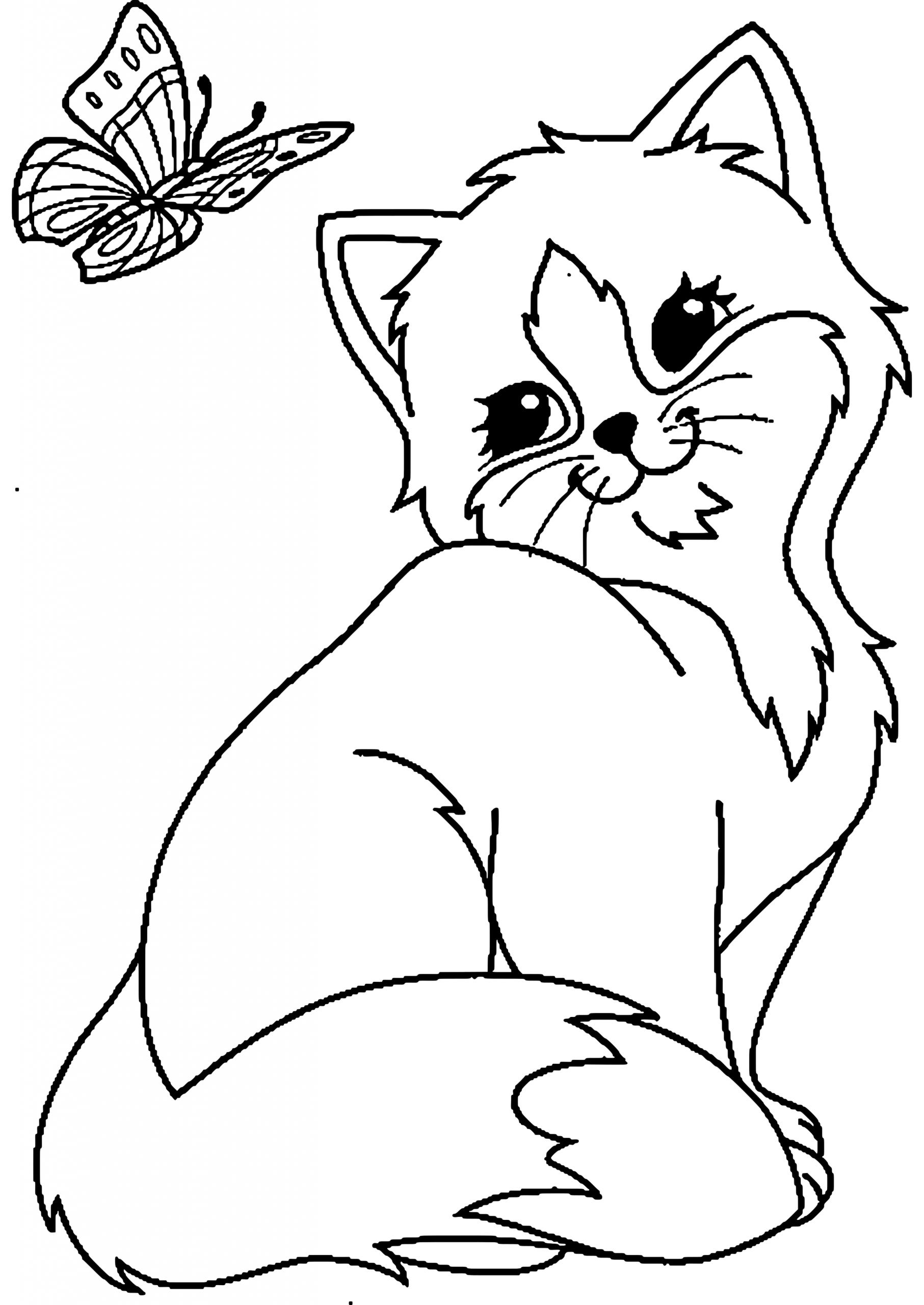 Ausmalbilder Tiere Weihnachten (Mit Bildern) | Ausmalbilder mit Ausmalbilder Katzen Kostenlos