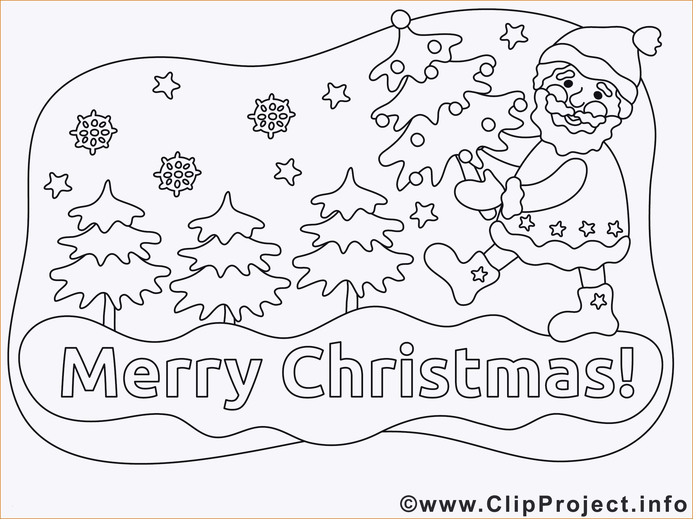 Ausmalbilder Weihnachten - Malvorlagen Für Kinder bei Ausmalbild Weihnachten Kostenlos
