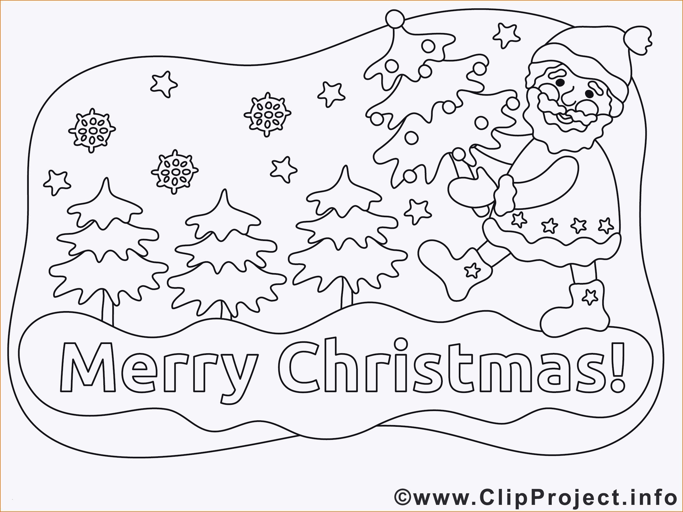 Ausmalbilder Weihnachten - Malvorlagen Für Kinder in Malvorlagen Weihnachten Kostenlos