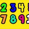 Ausmalbilder Zahlen Ausdrucken Gratis 1-10 - 1Ausmalbilder in Verschnörkelte Zahlen Zum Ausdrucken