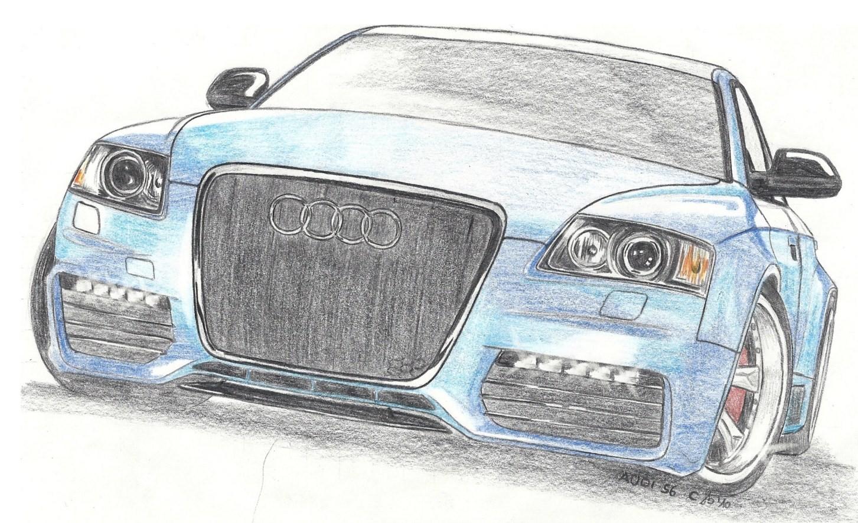 Auto-Zeichnungen *by A Woman* ^^ - Seite 1 - Pagenstecher.de bei Auto Bilder Gezeichnet