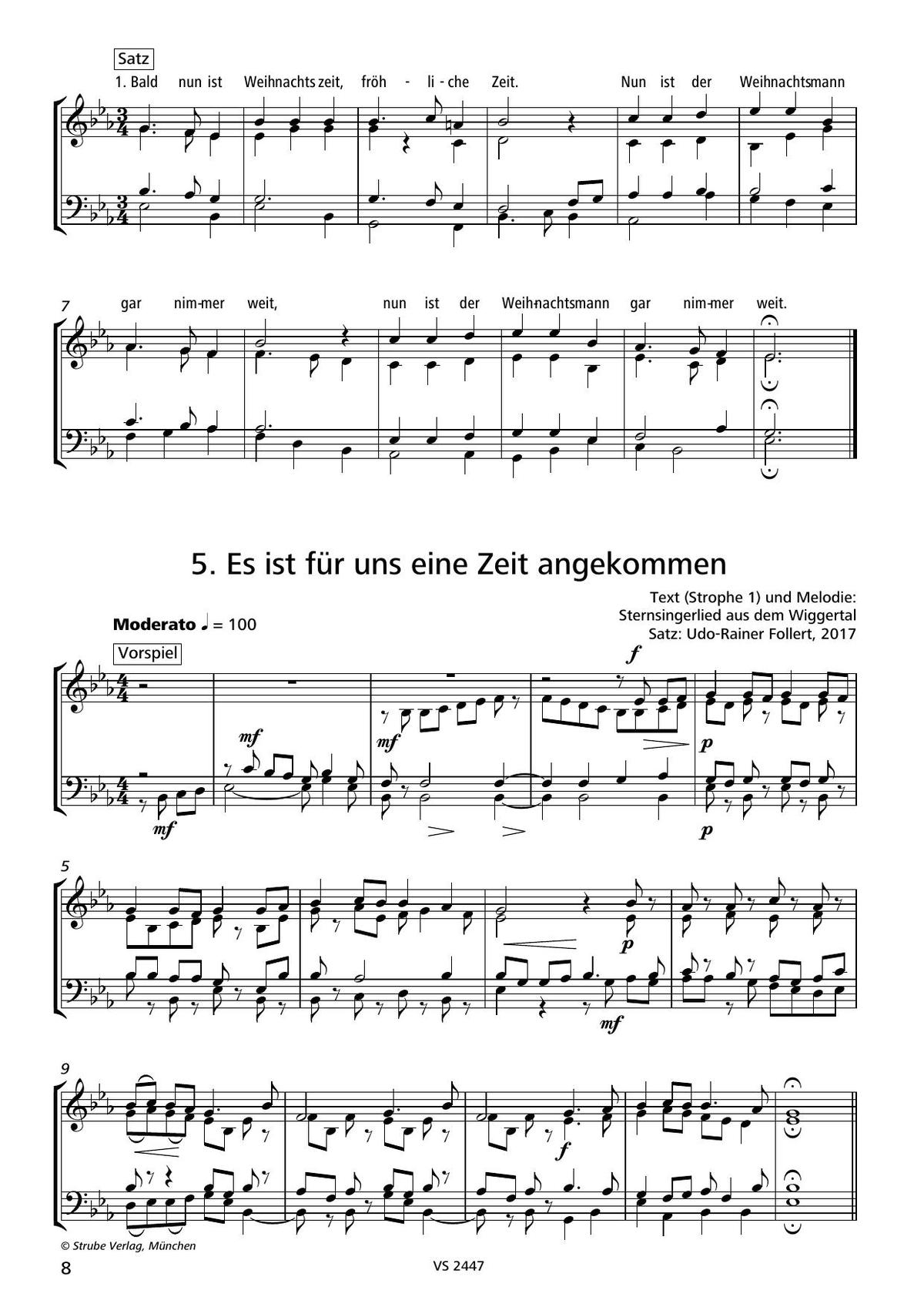 Bald Nun Ist Weihnachtszeit (Posaunenchor) über Bald Nun Ist Weihnachtszeit Text