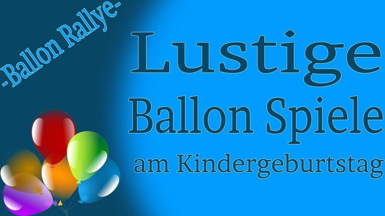 Ballon Spiele Am Kinderfest - Ballon Rallye verwandt mit Lustige Spiele Für Kindergeburtstag