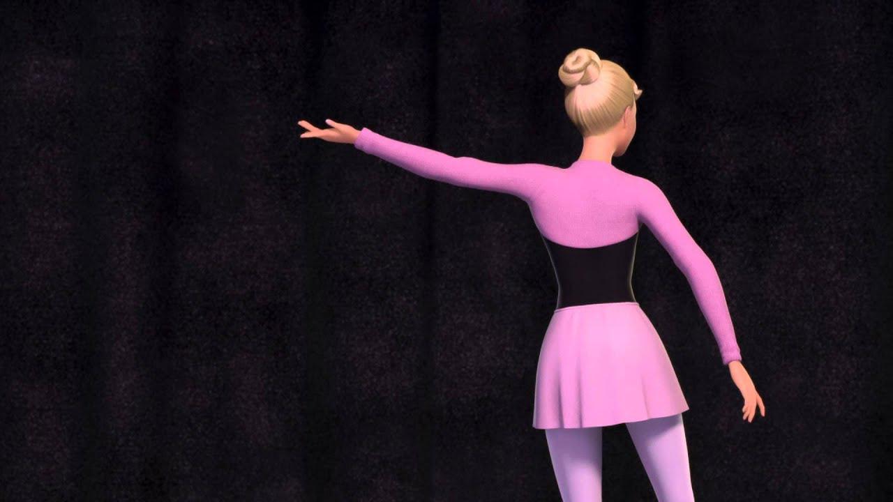 Barbie™ In Die Verzauberten Ballettschuhe - Trailer verwandt mit Ausmalbilder Barbie Prinzessinnen Akademie