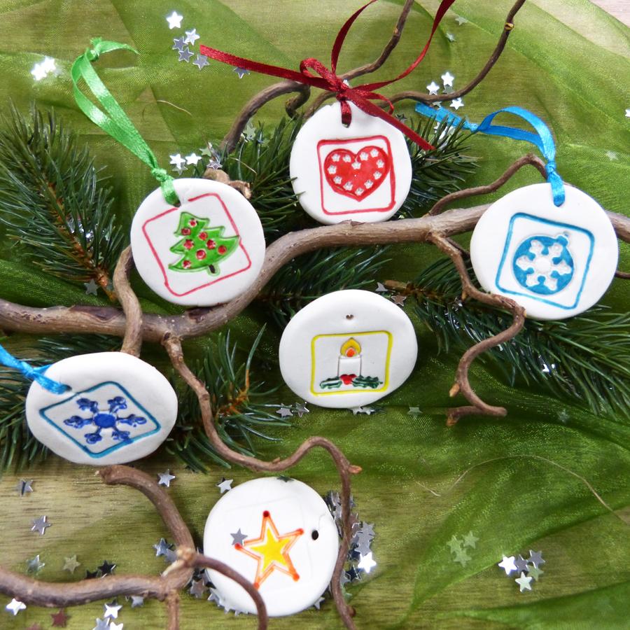Bastelideen Kinder Weihnachten | Weihnachtsanhänger mit Weihnachtliche Bastelideen Für Kinder