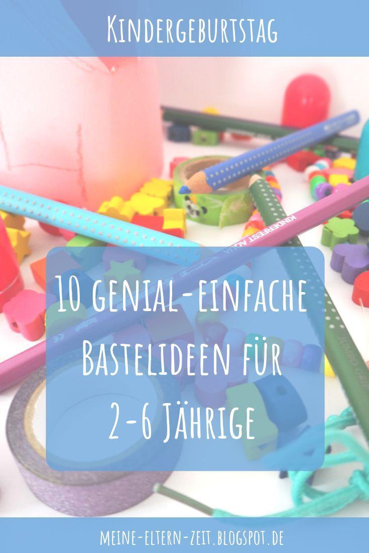 Basteln Am Kindergeburtstag: Die 10 Besten Bastelideen Für bestimmt für Bastelideen Kindergeburtstag 10 Jährige