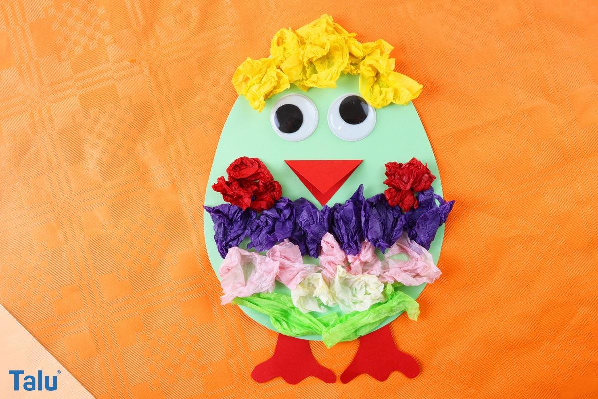 Basteln An Ostern Im Kindergarten - Einfache Bastelideen Für für Bastelvorlagen Für Kleinkinder