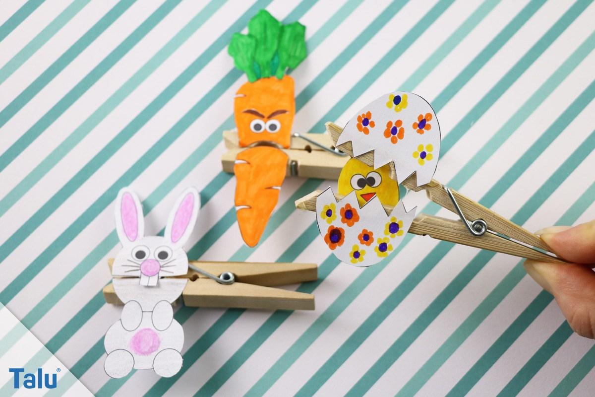Basteln An Ostern Im Kindergarten - Einfache Bastelideen Für innen Bastelarbeiten Für Kindergartenkinder
