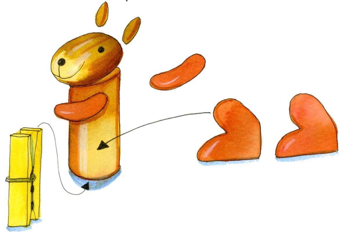 Basteln Mit Kindern - Kostenlose Bastelvorlage Basteln Im innen Bastelvorlage Eichhörnchen