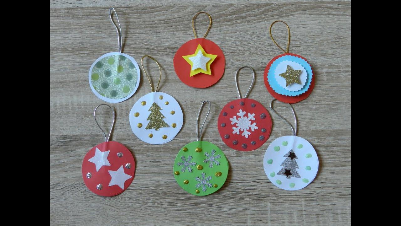 Basteln Mit Kindern - Weihnachtskugeln bei Christbaumschmuck Selber Machen Kinder