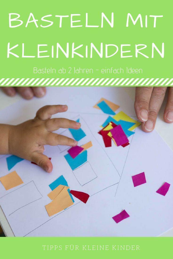 Basteln Mit Kleinkindern - 2 Konkrete Ideen Für Ganz Leichte bei Weihnachtsbasteln Mit Kindern Ab 3 Jahren